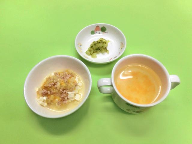 麻婆豆腐の展開:7~8ヶ月